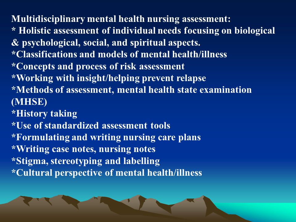 history of psychiatry and community psychiatry nursing essay Advancing the role of the psychiatric mental health nurse in th community i  advancing the role  policy paper april 2008  community based  psychiatric mental health nursing roles   not on the origins of the diagnostic  categories.