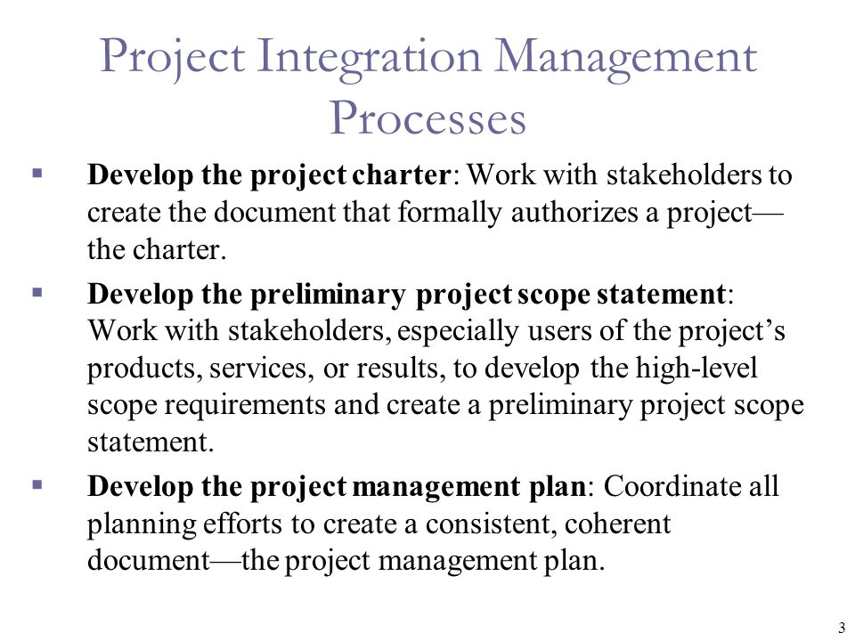 how to develop a project plan