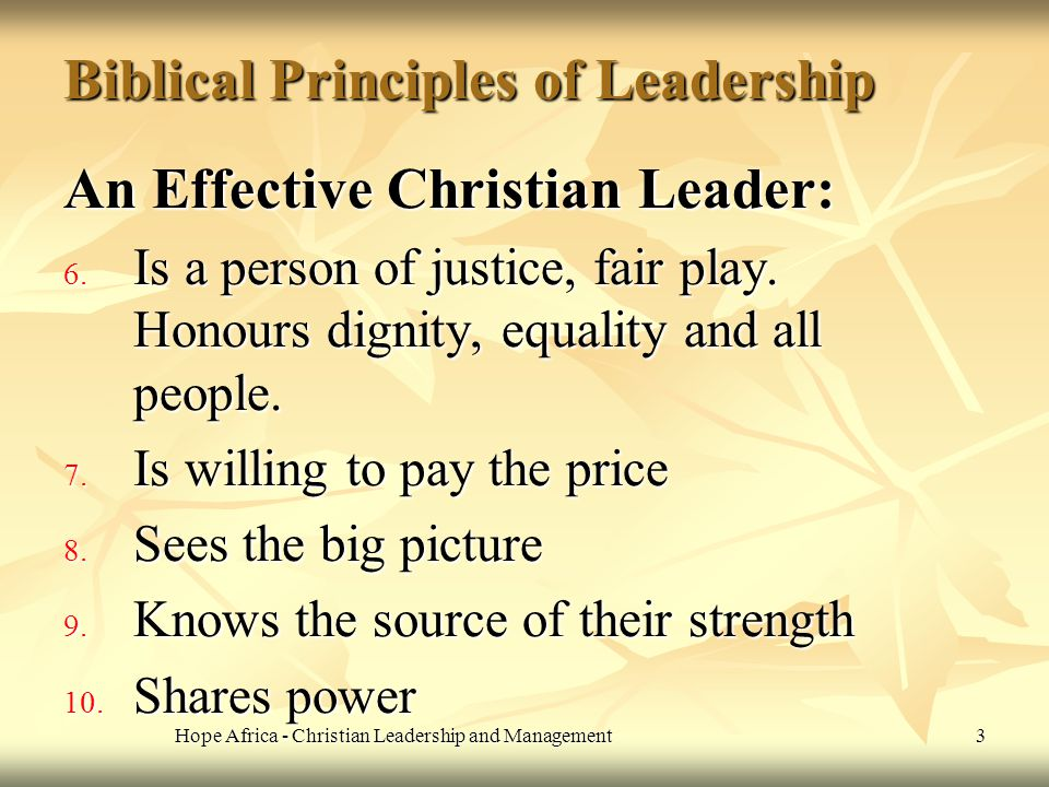 christian management and leadership These challenges inspired us to offer a solution—a comprehensive and innovative christian leadership and life skills course  christian edition leadership .