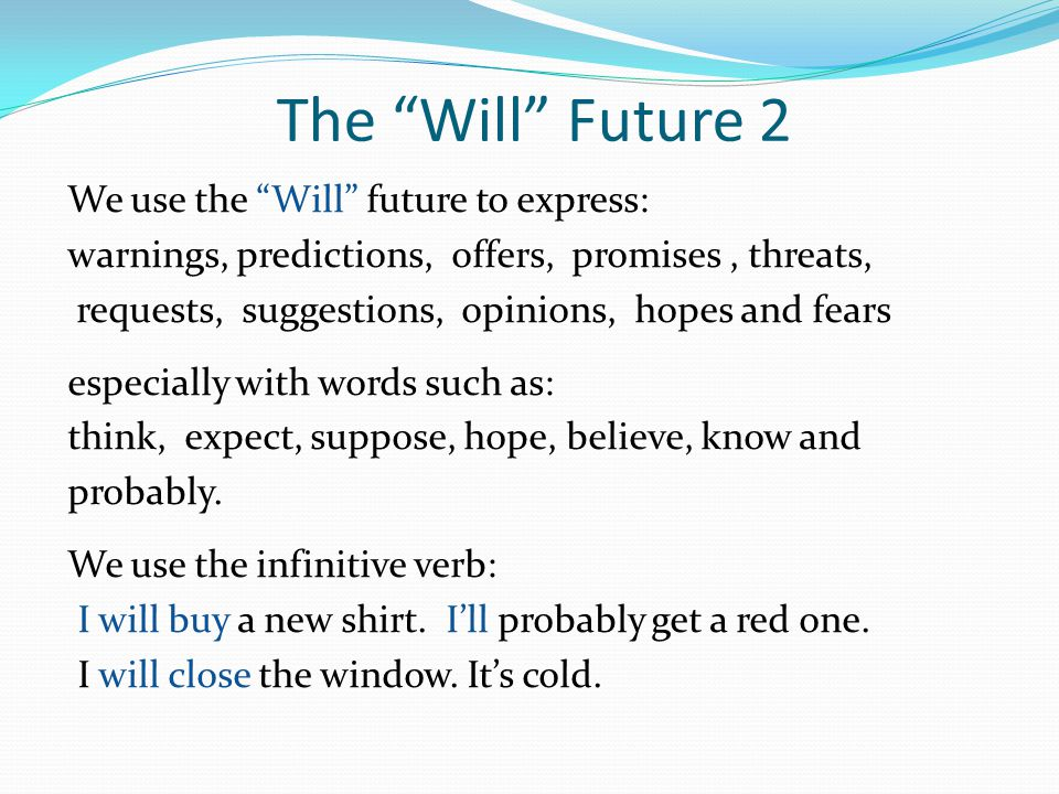 The Will Future 2