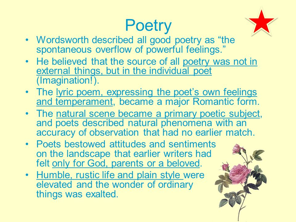 mysticism in wordsworth poetry William wordsworth is a romantic mystic poet per-excellence to him mystic experience is a kind of spiritual illumination he is endowed with the capacity to feel the presence of the divine spirit in all things and of unity in diversity, of the infinite in the finite.