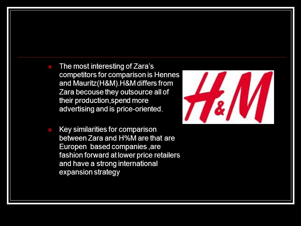 H&M's Supply Chain Management Practices