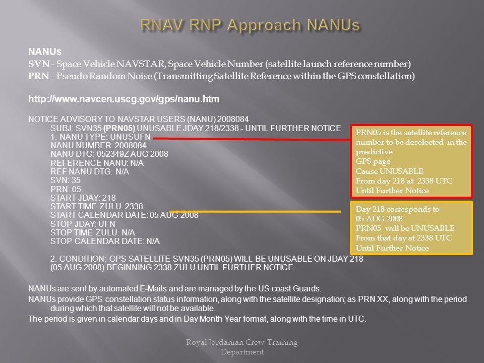 Rnav Rnp Approach N