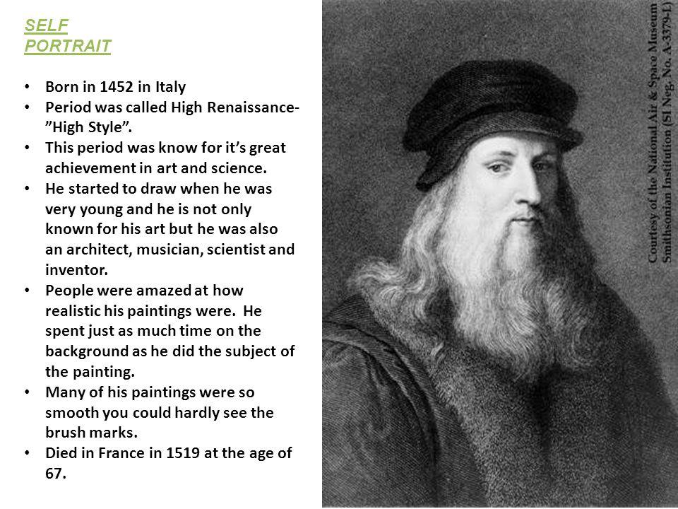 Leonardo Da Vinci Art Masterpiece - ppt video online download