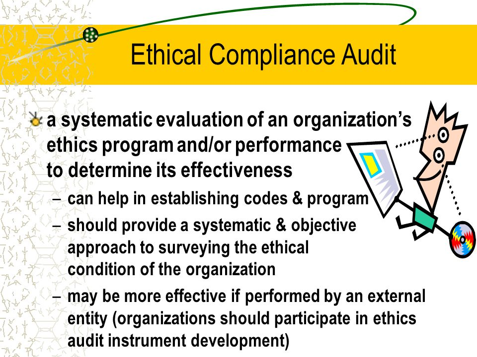 Ethical Compliance Audit