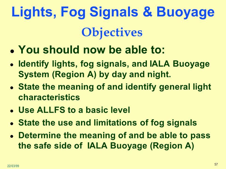 Lights, Fog Signals & Buoyage - ppt video online download