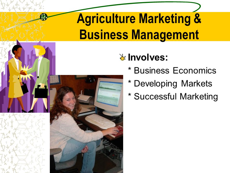 Agriculture Marketing & Business Management