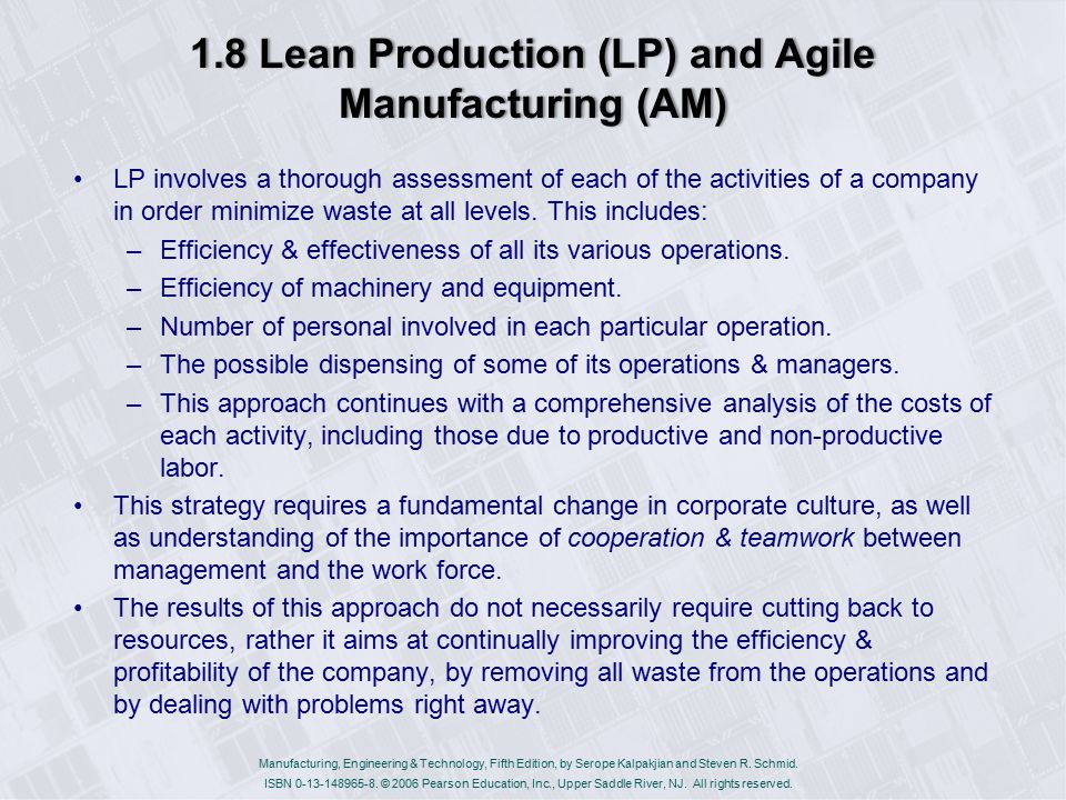 The Similarities Between Lean & Agile Manufacturing