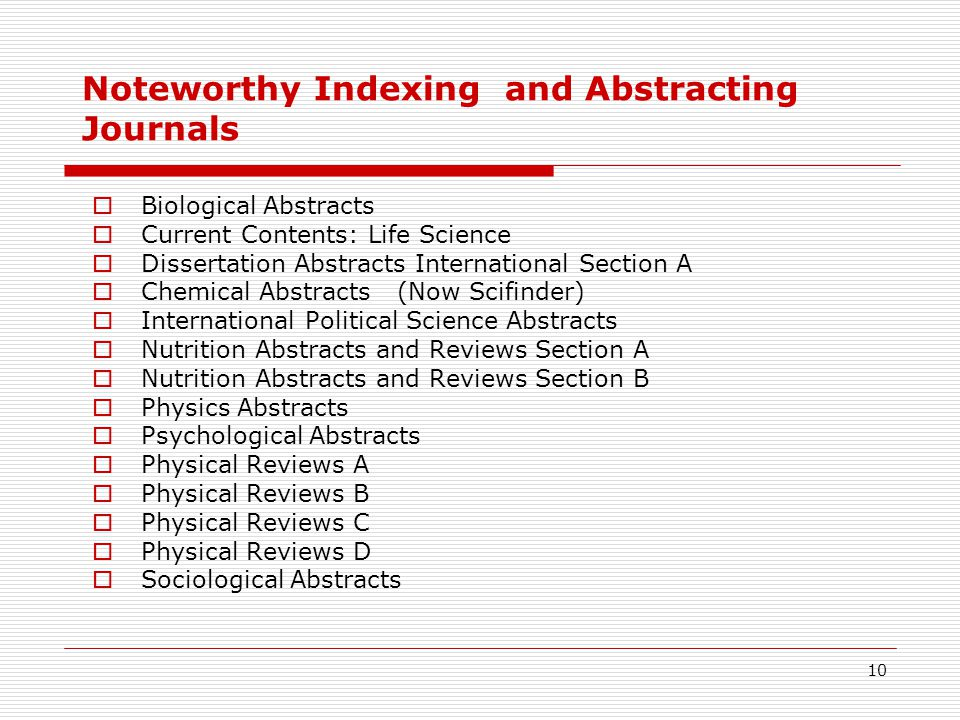 Sas dissertation abstract journal