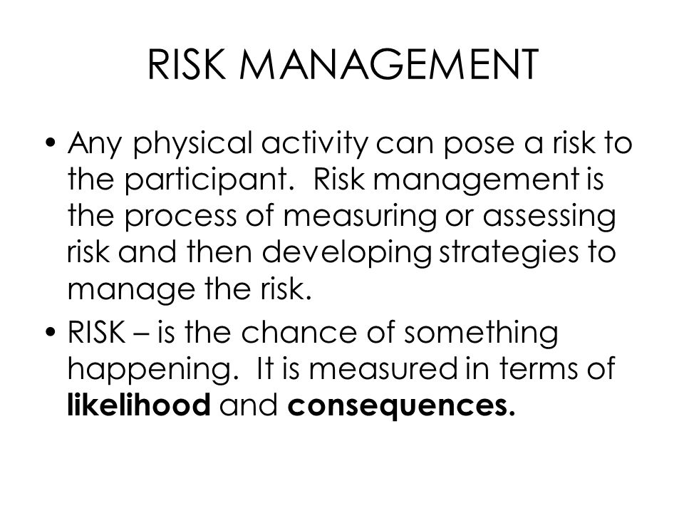 risk assessment sports accidents and injuries Amateur sports clubs not cover general fire safety, sports grounds safety of risk against the measures needed to control the real risk in terms of.