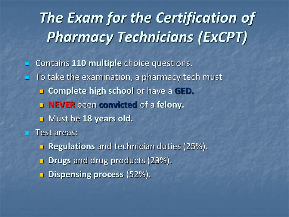 The Pharmacy Technician 4e Ppt Video Online Download