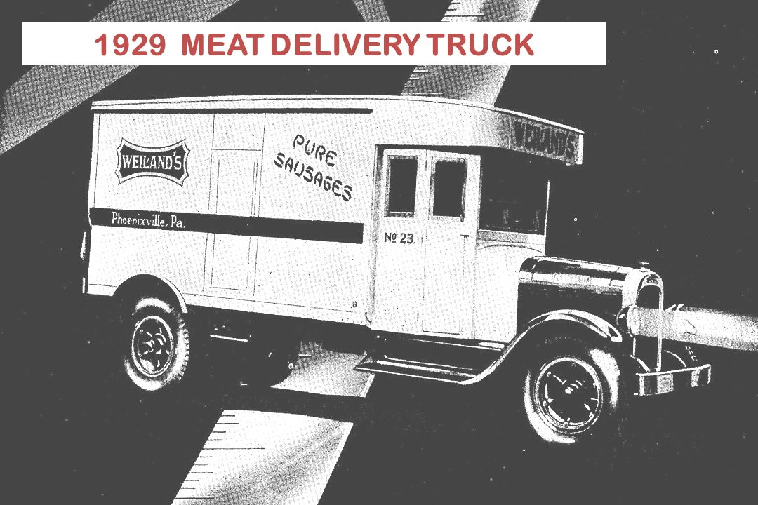 18 1929 MEAT DELIVERY TRUCK TEXAS TECH ASFT Department