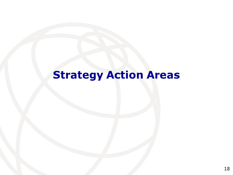 Strategy Action Areas