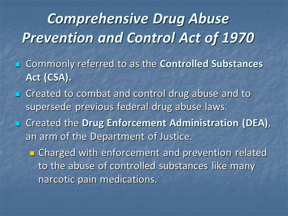 drug control essay