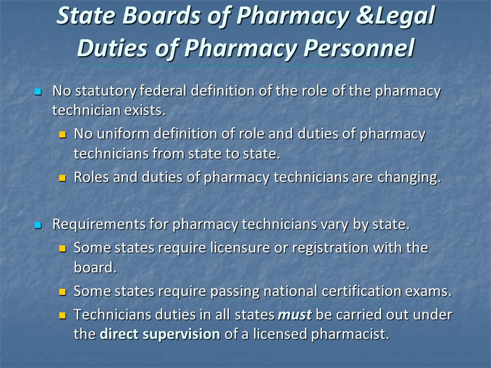 The Pharmacy Technician 4E - ppt download