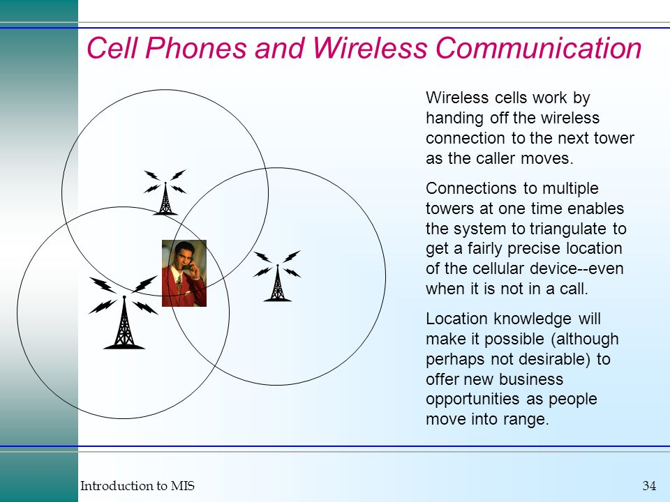 Cell Phones and Wireless Communication