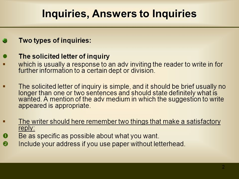Specific Types of Business Letters ppt video online download