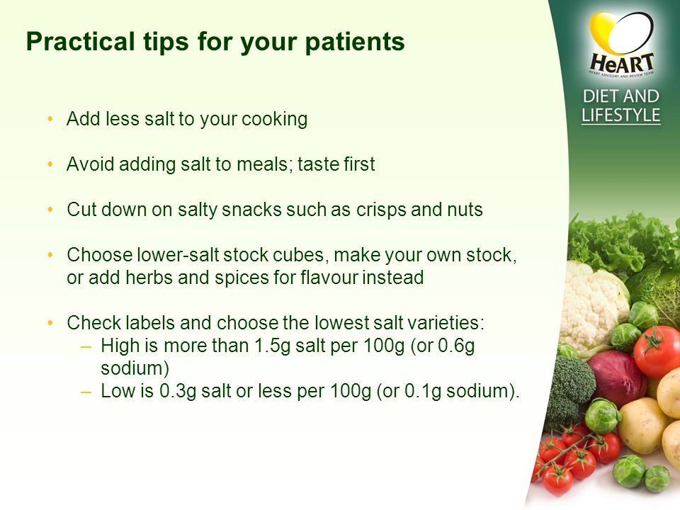 DIET & LIFESTYLE MODIFICATIONS FOR A HEALTHY HEART