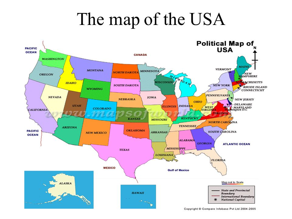 The Englishspeaking Countries Ppt Video Online Download - Usa map countries