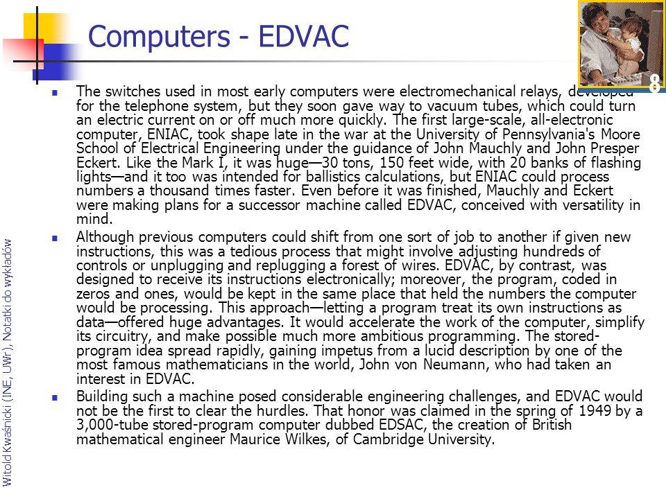 Computers - EDVAC