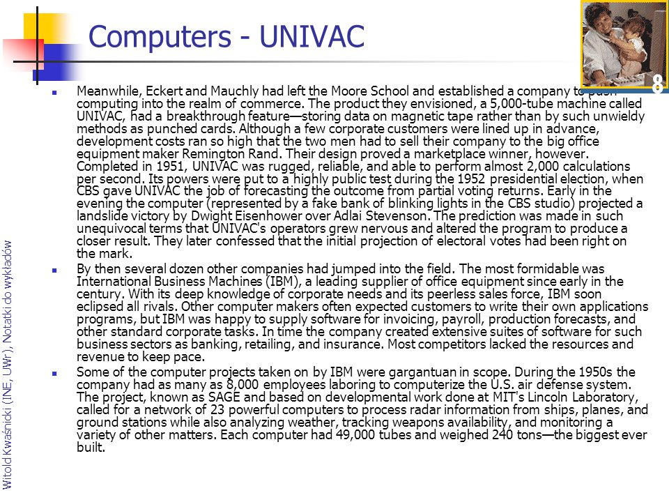 Computers - UNIVAC