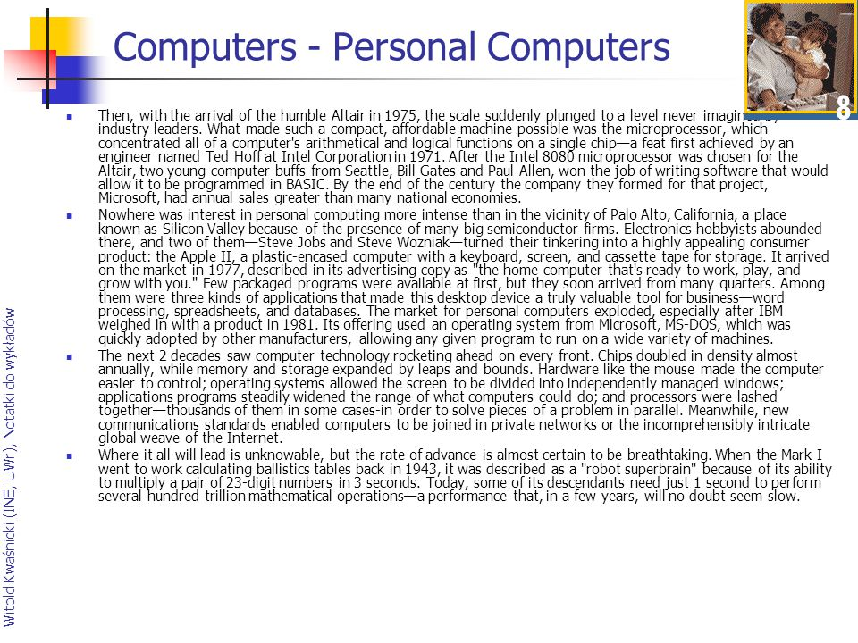 Computers - Personal Computers