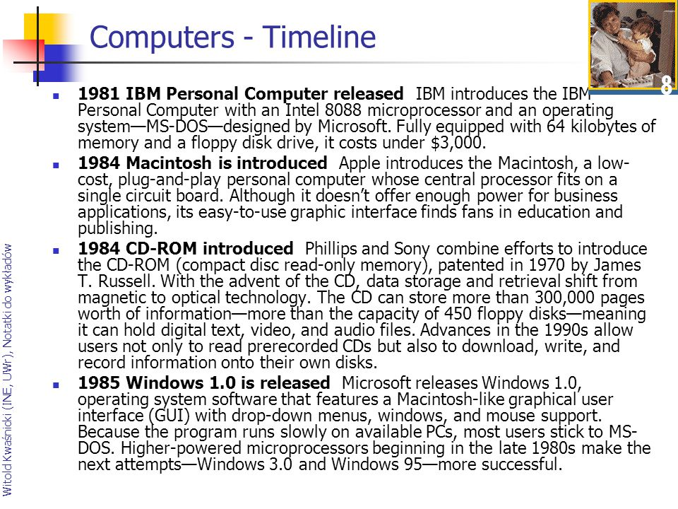 Computers - Timeline