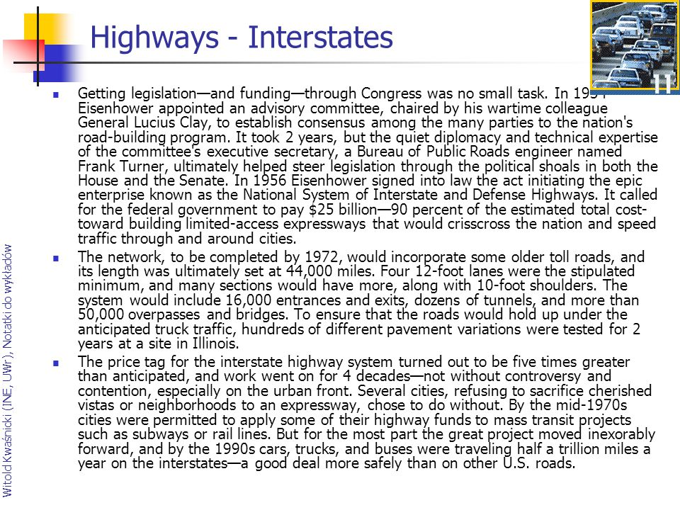 Highways - Interstates