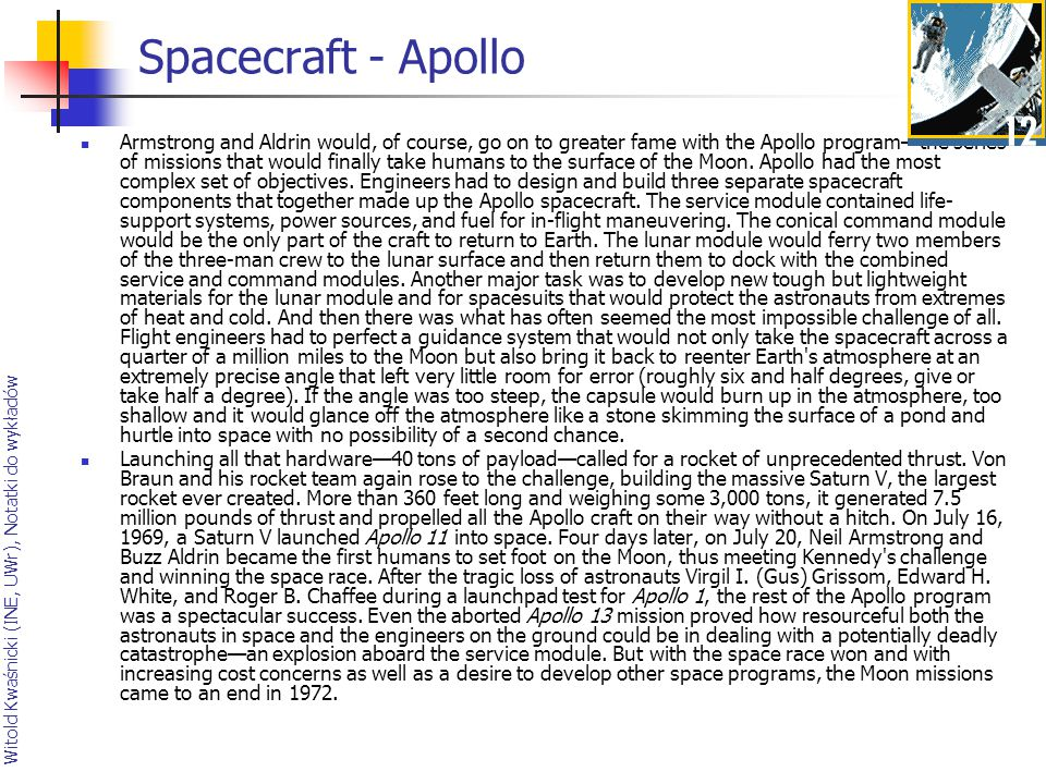 Spacecraft - Apollo