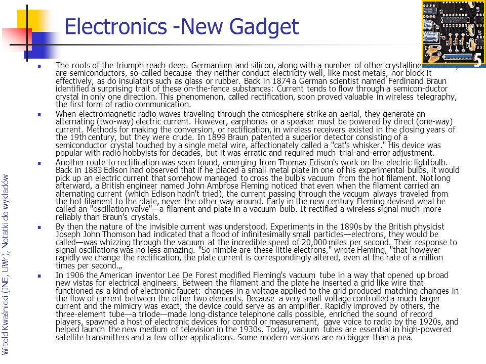 Electronics -New Gadget