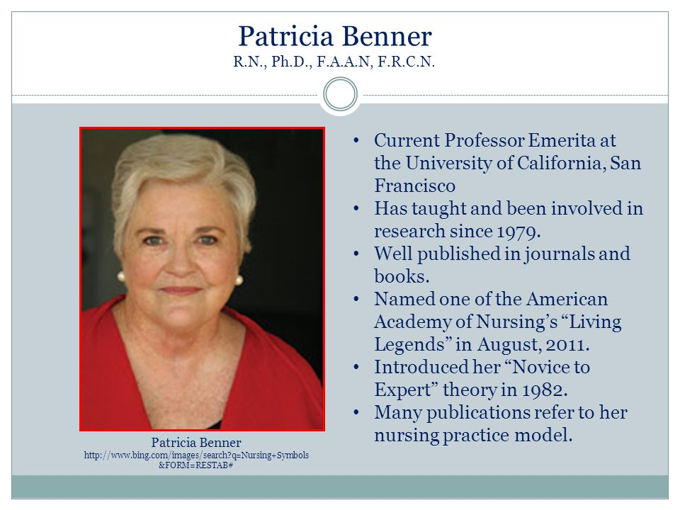 Patricia Benner