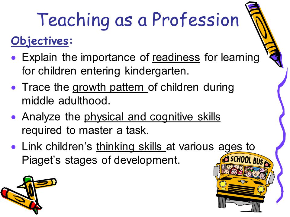 the importance of teachers in the learning and development of children to adults Learning theories and of teaching children the values and on children and it is important for families and other adults working with children.