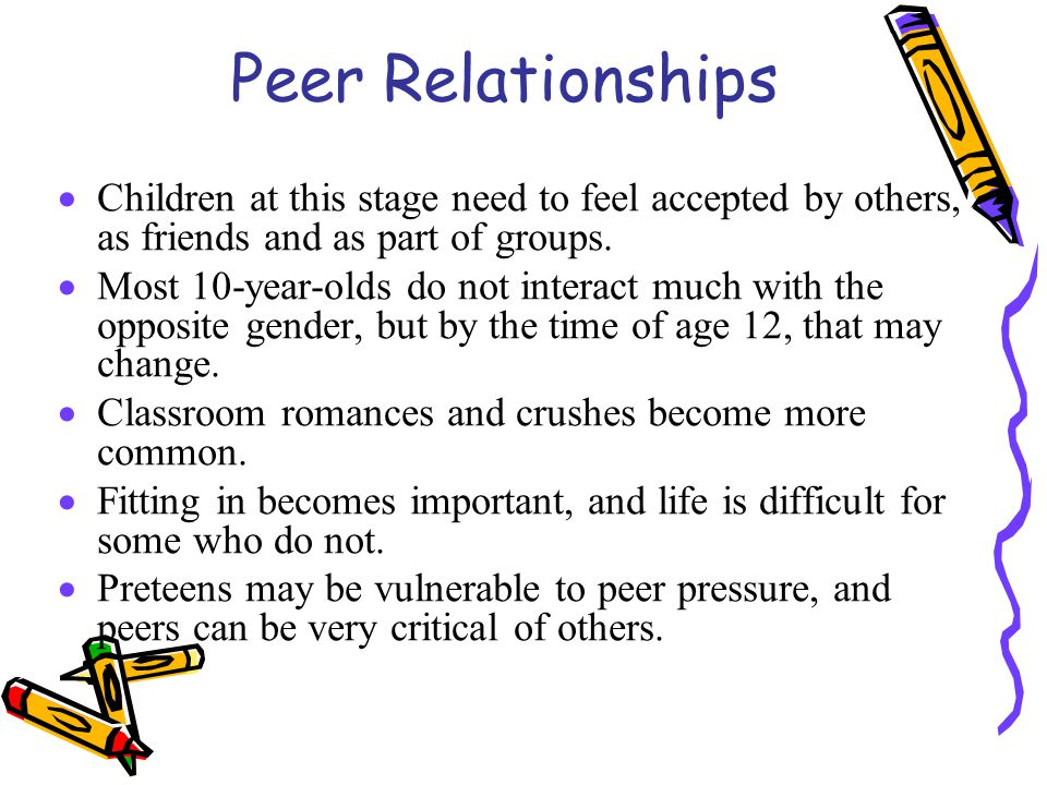 an analysis of the peer relationships in preadolescence Adolescent peer relationships and behavior problems predict young adults' communication on social networking websites  and adjustment in preadolescence and .