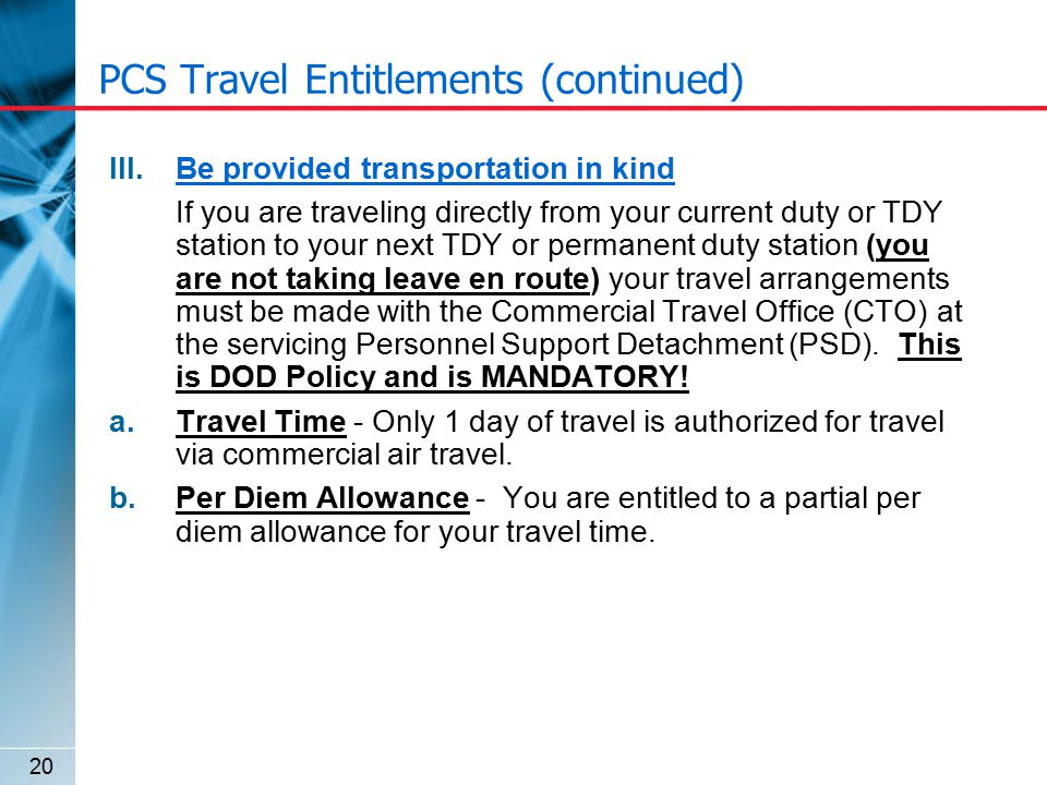 New Construction Travel Amp Pay Entitlements Ppt Download