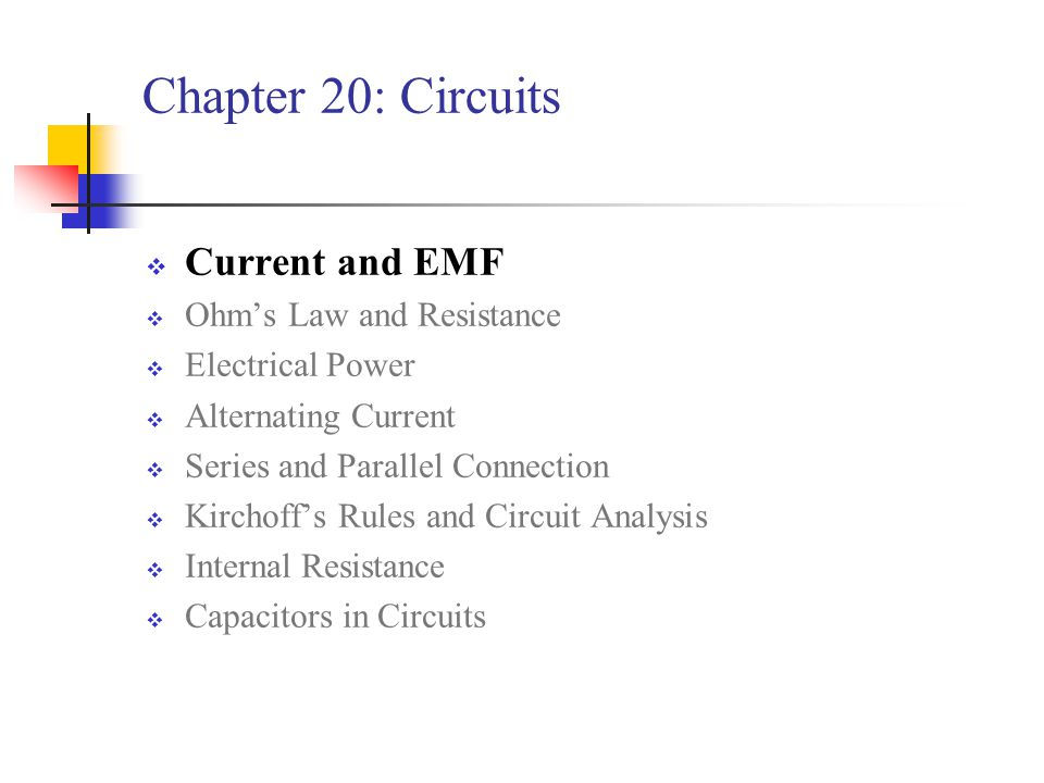 chapter 20 circuits current and emf ohm s law and resistance ppt rh slideplayer com