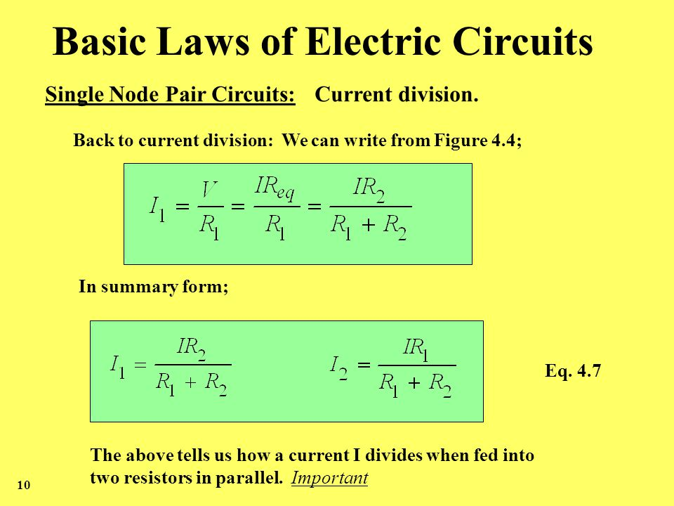 Basic Laws of Electric Circuits Nodes, Branches, Loops and - ppt ...