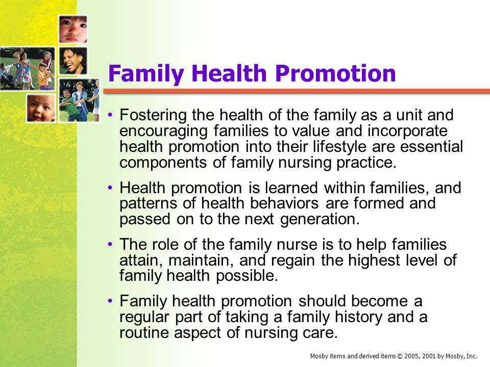 Health promotion. Strategies for family physicians.