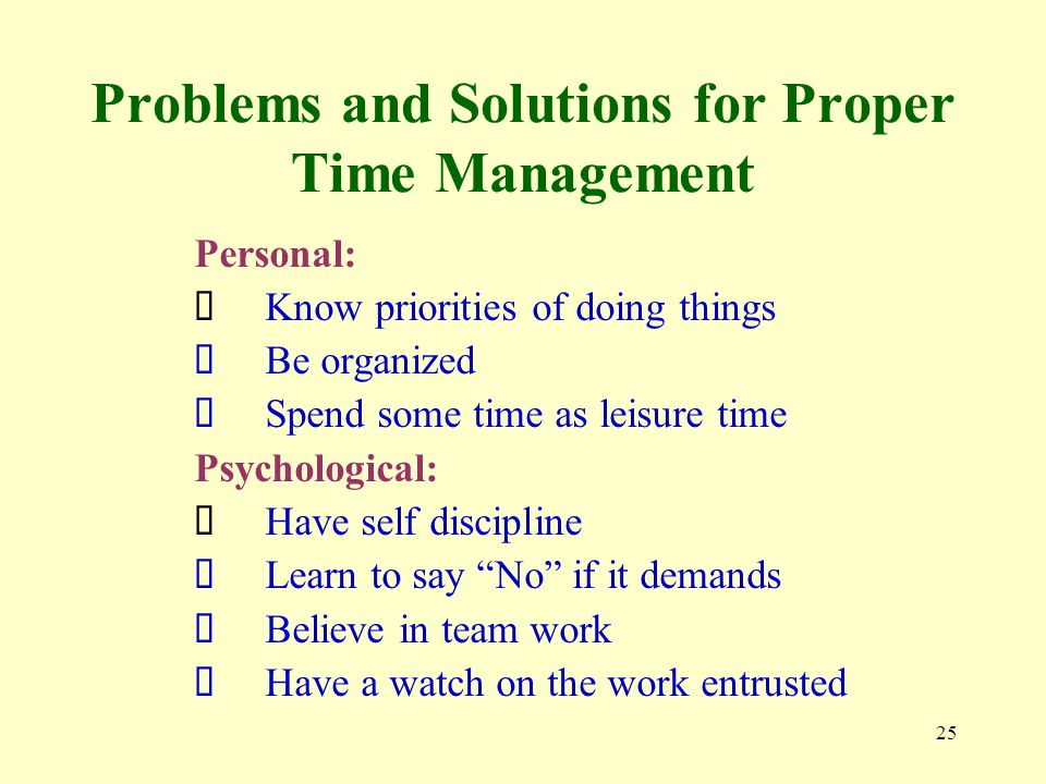 time management family issues Time management and family life or work life satisfaction anne condon u  british columbia guiding principle: know yourself what's really important for you .