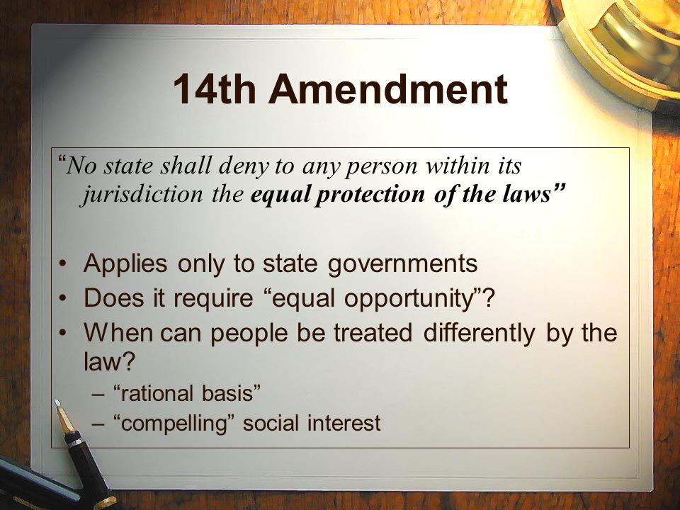 what rights this amendment guarantee or protect essay Essays related to equal rights amendment 1 equal protection rights in terms of the fifth and sixth amendments are in place to guarantee that all citizens.