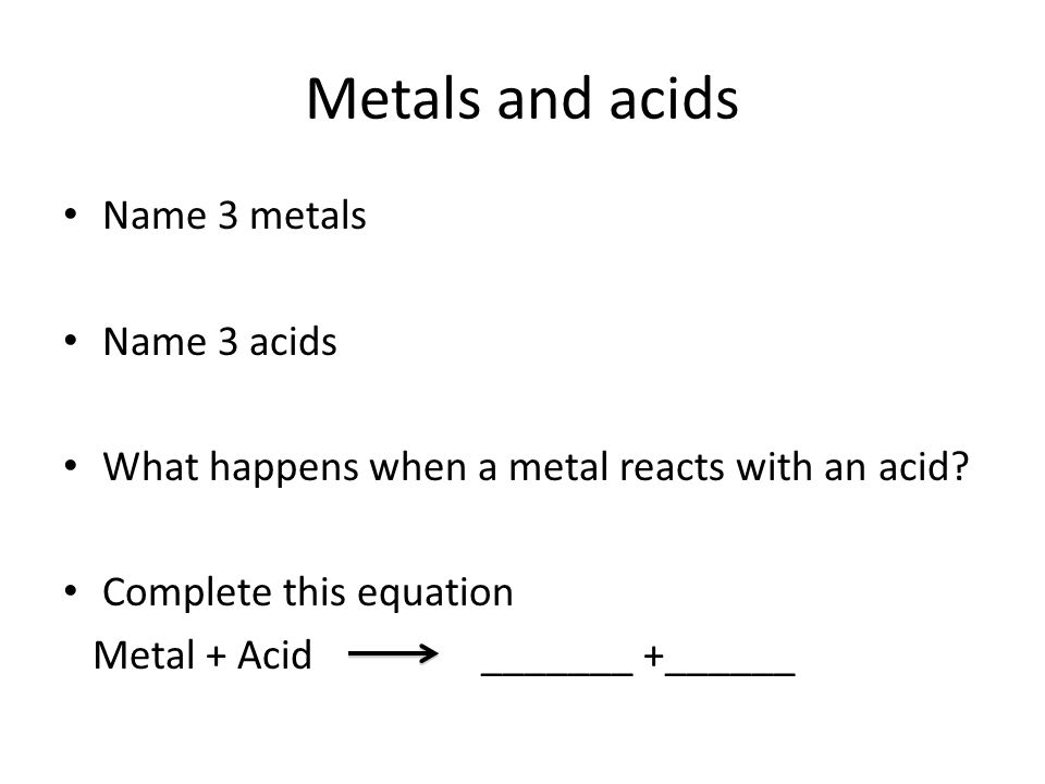 metals and their compounds pdf