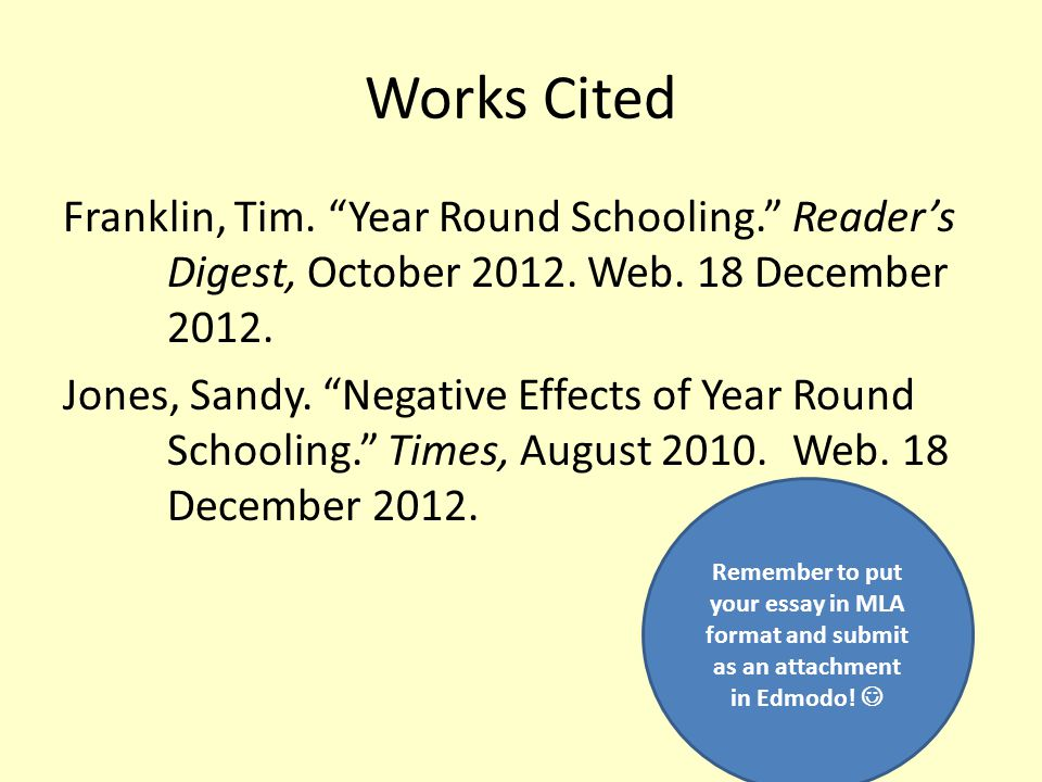 persuasive essay against year round school Year-round schools     against: links.