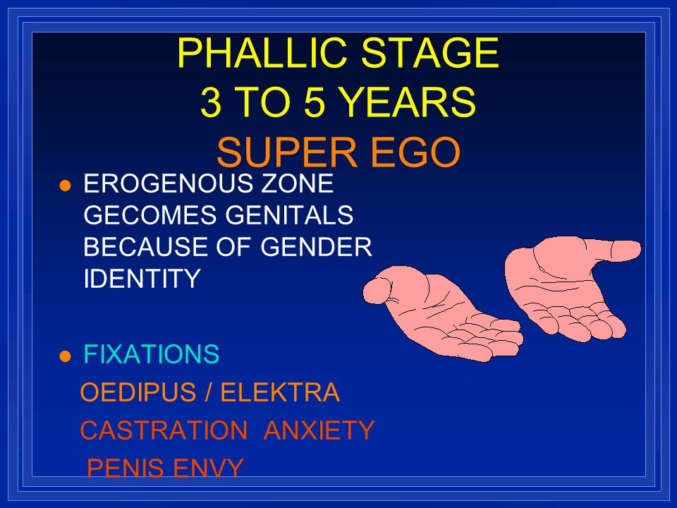 psychosexual stage In this stage, school, sports & friends are the focus the fifth & final stage of psychosexual development is the genital stage from puberty until around 18 years old.
