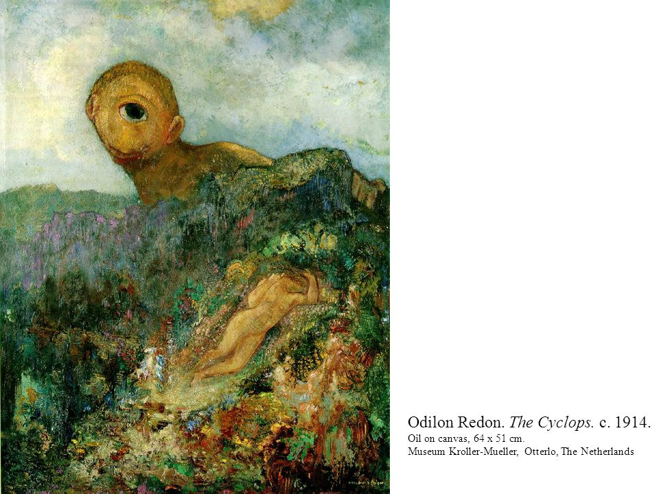 Awesome Odilon Redon Cyclops Contemporary - Transformatorio.us ...