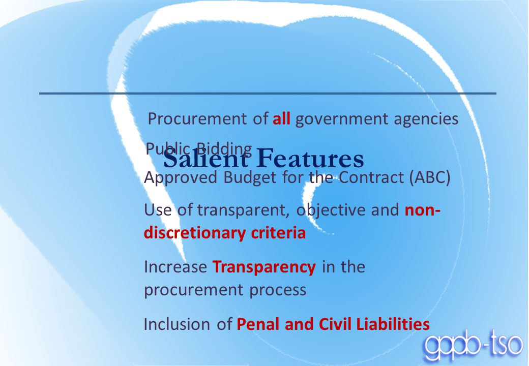 accountability and transparency in public procurement process and thesis Good governance: rule of law, transparency • transparency: public education the rule of law, transparency, and accountability are not merely technical.
