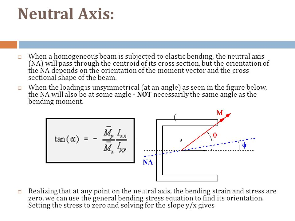 how to find the neutral axis of a rectangular beam