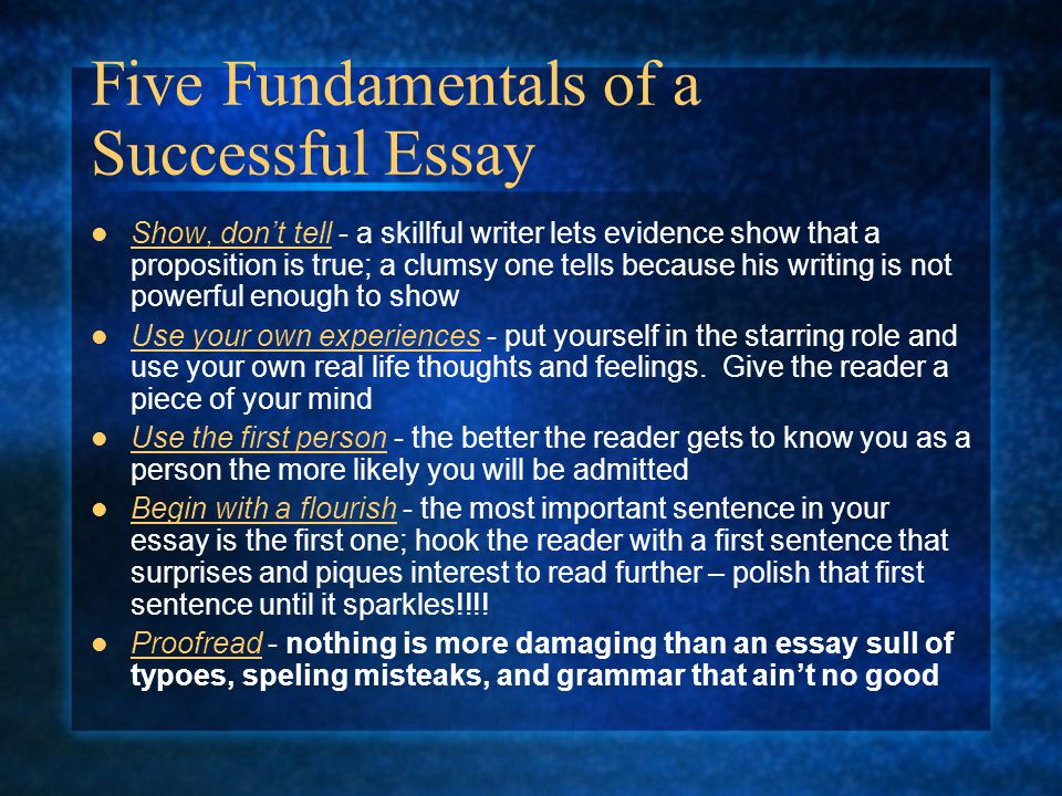 essay  Do you  dig yourself   Here s a true personal story