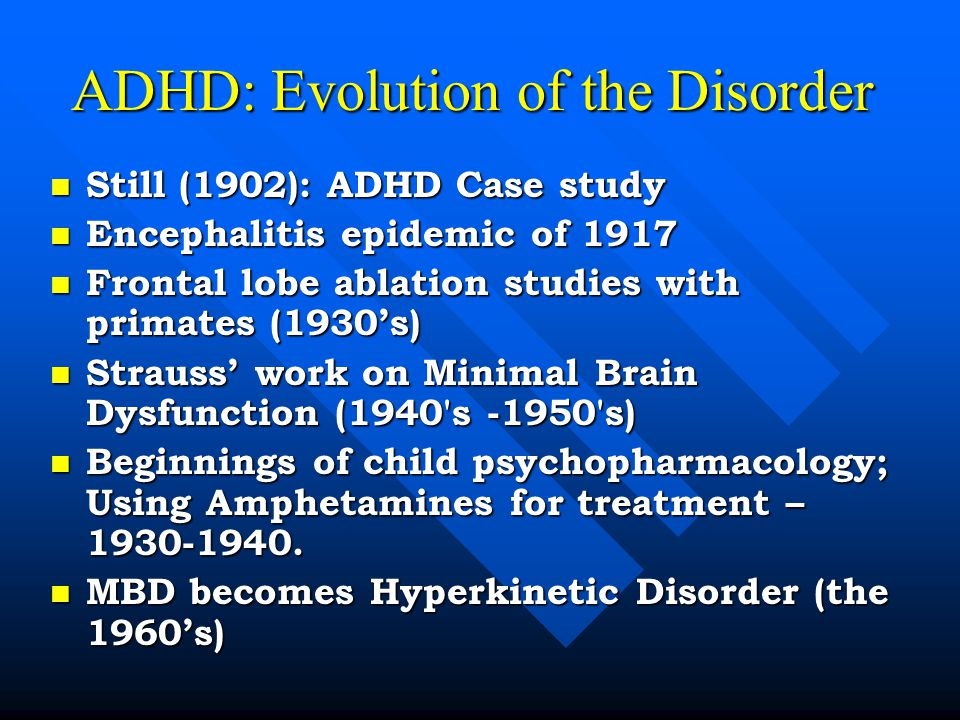 case study on adhd A case study of a young haitian american is presented that is illustrative of cultural issues that influence care of those with attention-deficit/hyperactivity.