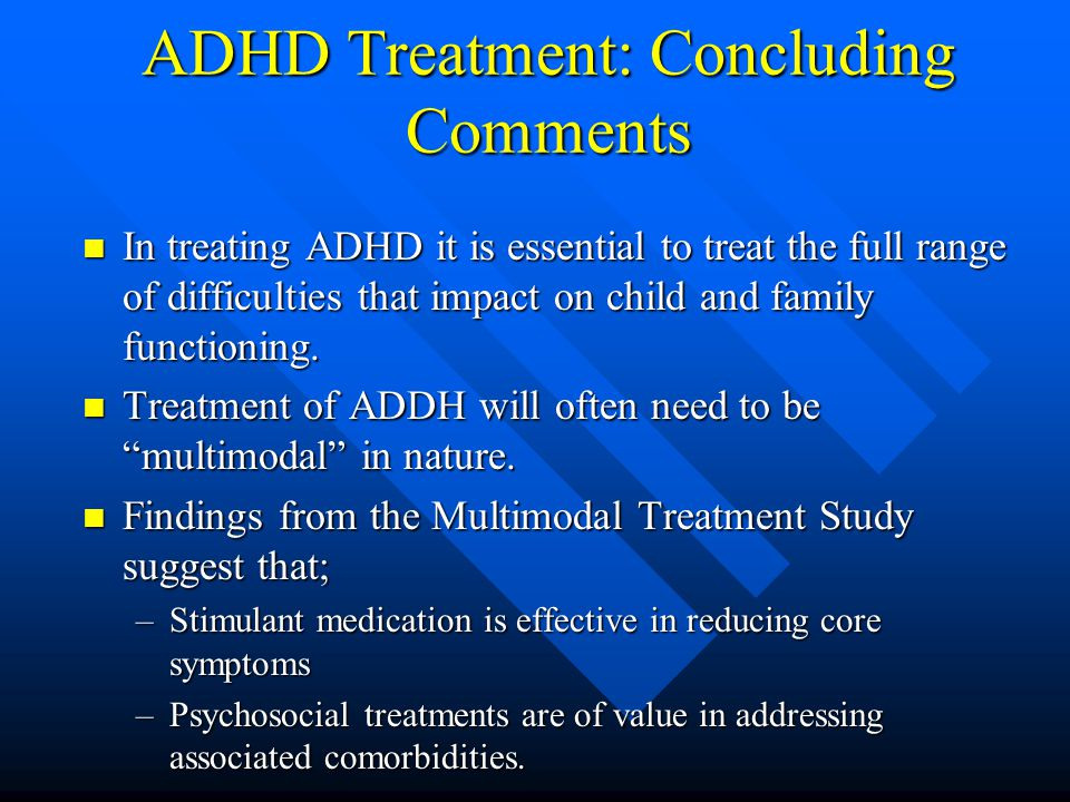 Side Effects of ADHD Medications