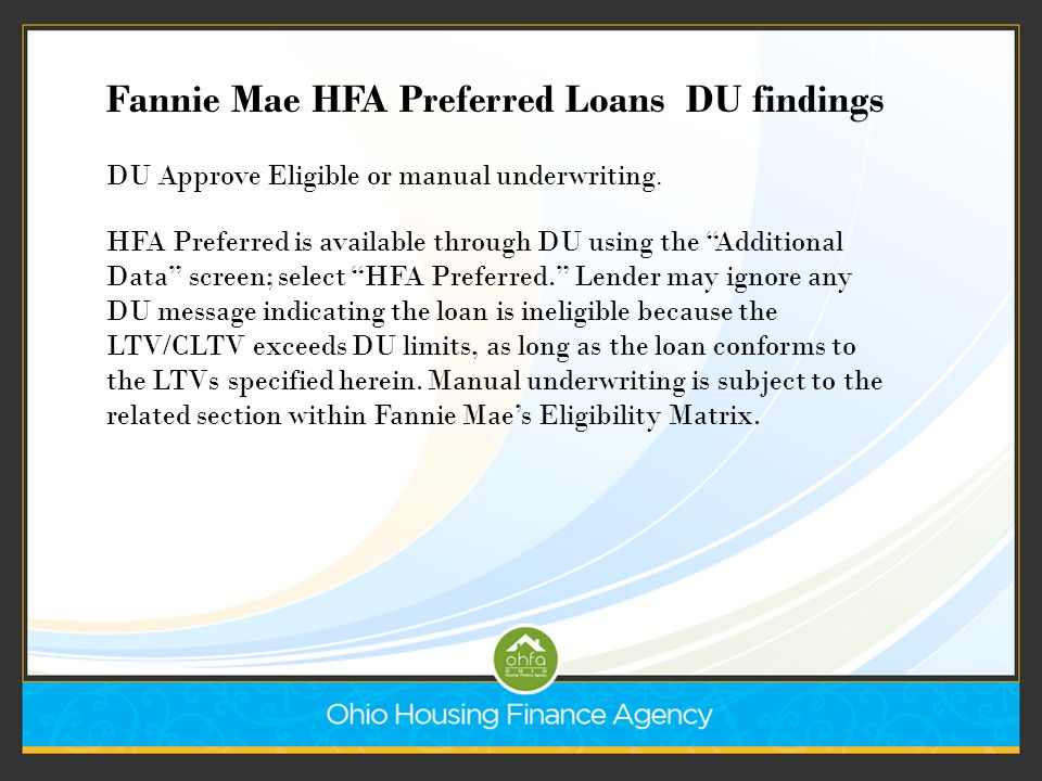 Everything You Ve Ever Wanted To Know About Ohfa Loans And
