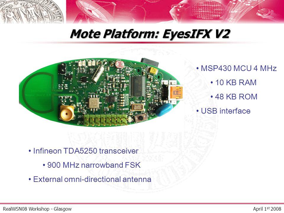 Mote Platform: EyesIFX V2